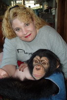 Thumbnail image for Jenn with baby Chimp 2.JPG